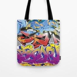Graff Montage Tote Bag