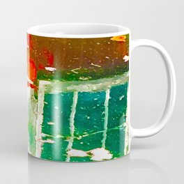 City Aflame and Drowning Coffee Mug