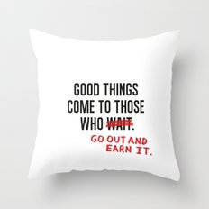 Good Things (Clean version) Throw Pillow