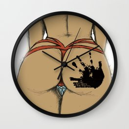Beautiful Ass [SWAG] Wall Clock