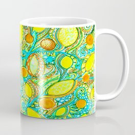 Abstract Citrus pattern drawing Coffee Mug