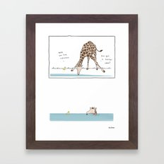 Ridiculous  Framed Art Print