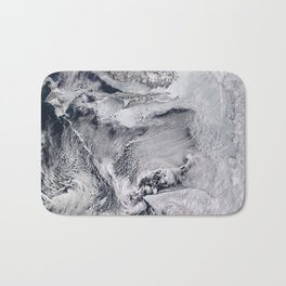 Sea Ice, Clouds in the Sea of Okhotsk Bath Mat