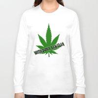 hawaiian Long Sleeve T-shirts featuring Butterscotch Hawaiian by kidkb09