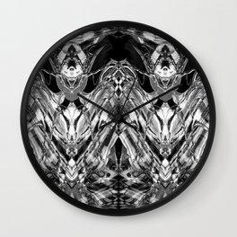 BLACK & WHITE CURIOSITY Wall Clock
