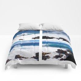 Quatre Vagues Comforters