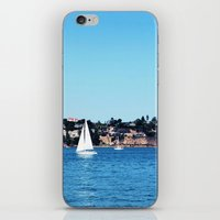 sail iPhone & iPod Skins featuring Sail by Elise Claire