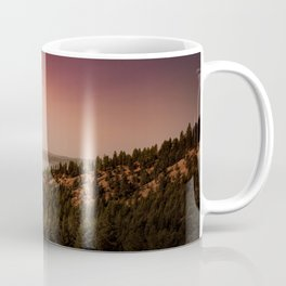 into an empty sky Coffee Mug