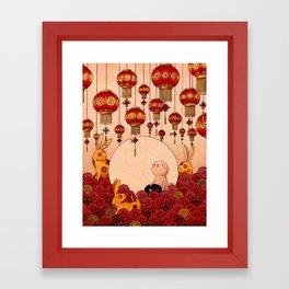 Mid Autumn Festival Framed Art Print