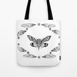 Cicada Summer Tote Bag