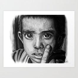 Little Nicaraguan boy Art Print