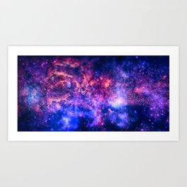 The center of the Universe (The Galactic Center Region ) Art Print
