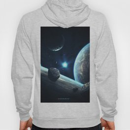 Earth Stars Planets Asteroids Surface of planets abikk Space 3D Graphics planet asteroid Hoody