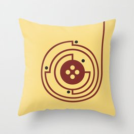 Volume III Throw Pillow