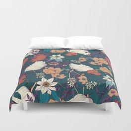 Botanical pattern 008 Duvet Cover