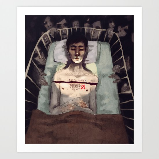 Studied and Observed  Art Print