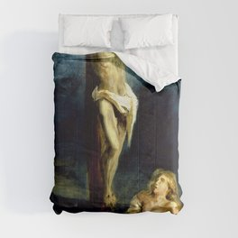 Eugene Delacroix - Saint Mary Magdalene At The Foot Of The Cross - Digital Remastered Edition Comforters