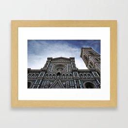 il duomo Framed Art Print