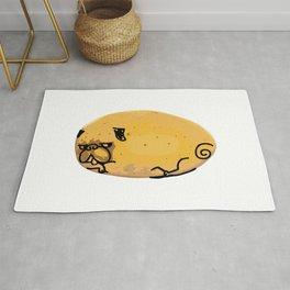 Puglife Potato Rug