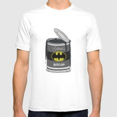 Batsoup Mens Fitted Tee White MEDIUM