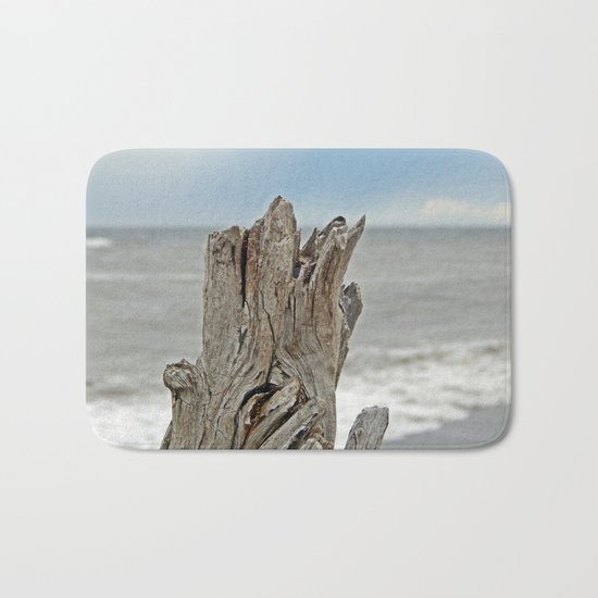 Looking past the Driftwood Bath Mat
