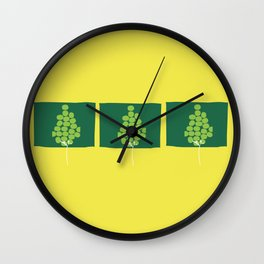 Growth by stages Wall Clock