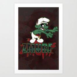 Zmurf Art Print