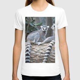Lemurs on a log T-shirt