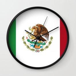 Flag of mexico Wall Clock