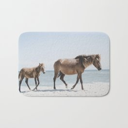 Horse Horse beach Bath Mat