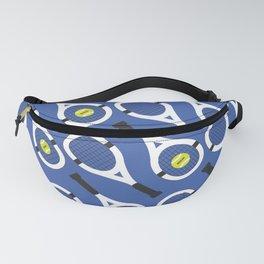 Tennis Pattern (Blue/White) Fanny Pack