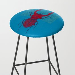 Stitches: Red stag Bar Stool