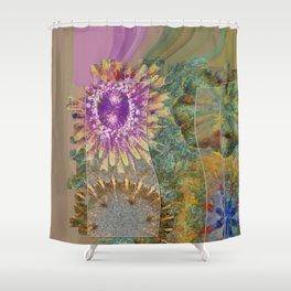 Rethank Weave Flower  ID:16165-002645-43931 Shower Curtain