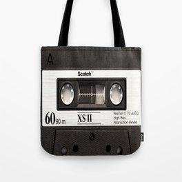 Cassette Tape Black And White #decor #society6 #buyart Tote Bag