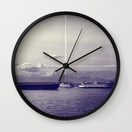 Vintage Elliot Bay Wall Clock