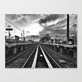 Returning Commute Canvas Print