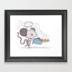 Bakery Mouse Framed Art Print