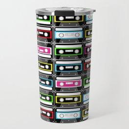 retro cassette design Travel Mug
