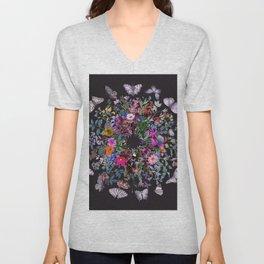 Butterfly Garden Unisex V-Neck
