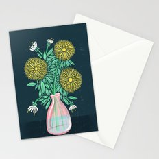 Chrysanthemum Bouquet Stationery Cards