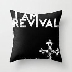 I Am Revival Throw Pillow