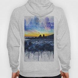 Ocean Sunset Painting Hoody