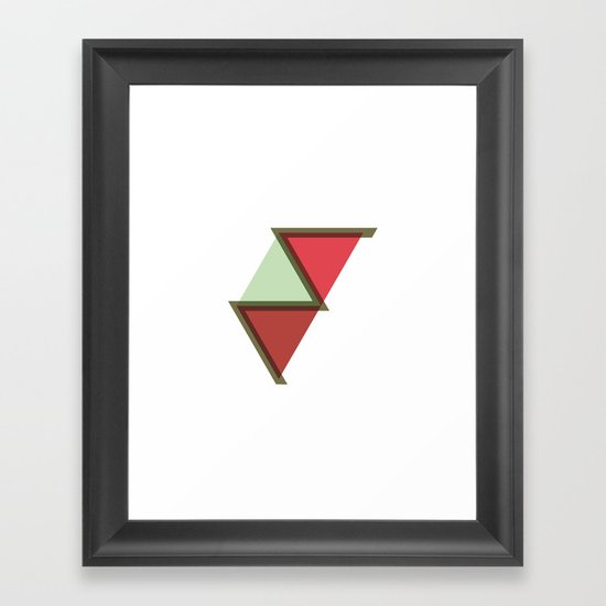 #385 Nile – Geometry Daily Framed Art Print