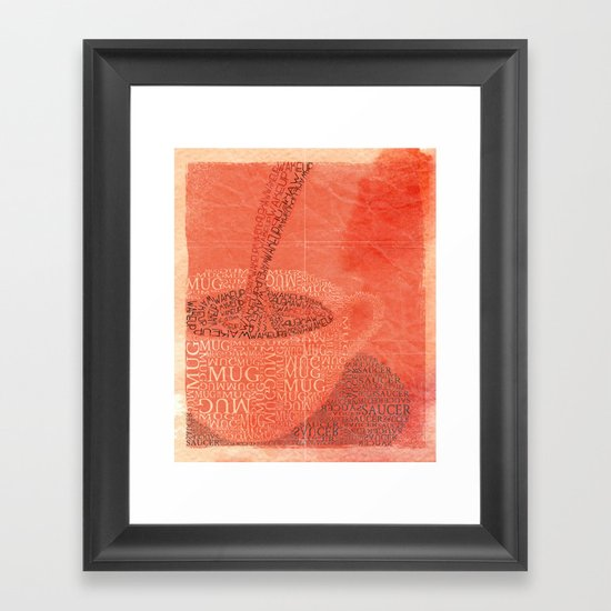 WakeUp! Framed Art Print