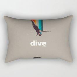 Dive Into My Soul Rectangular Pillow