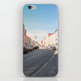 Summer in the city II | architectural photography iPhone Skin