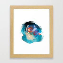 Pocketful of Ocean Framed Art Print