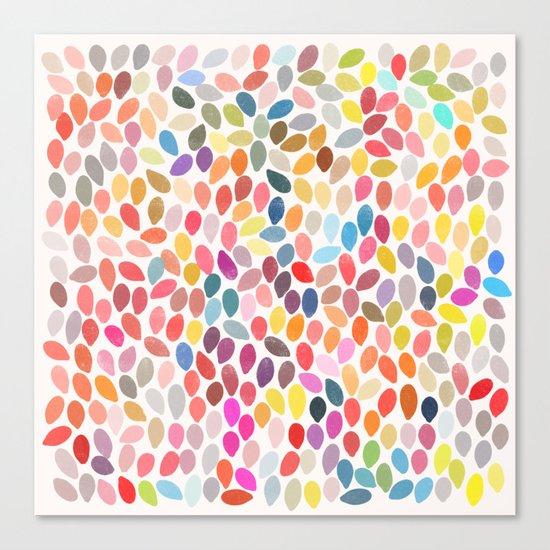 rain 3 sq Canvas Print