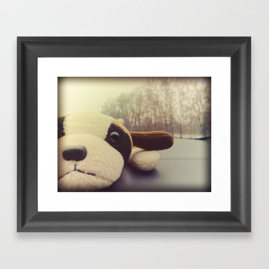 And I Thought I'd Live Forever, but Now I'm Not So Sure. Framed Art Print