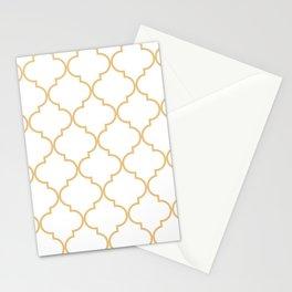 Quatrefoil - Latte Stationery Cards